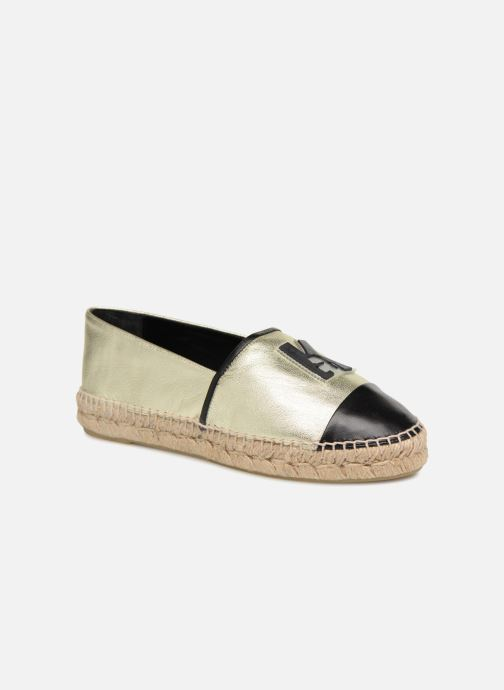 Karl Leather Espadrille