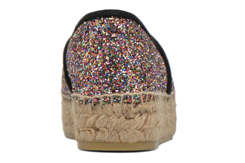 Espadrilles KARL LAGERFELD Glitter Espadrille Multicolor rechts