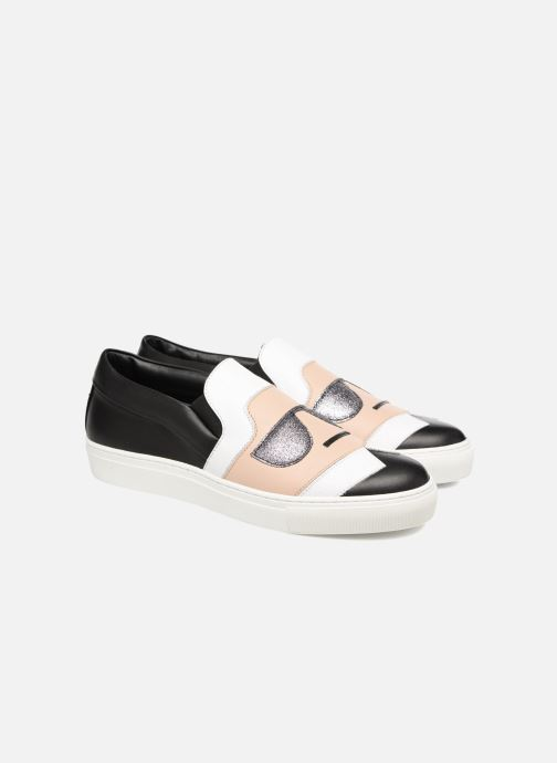 Baskets Karl Lagerfeld Kocktail Karl Slip On Noir vue 3/4