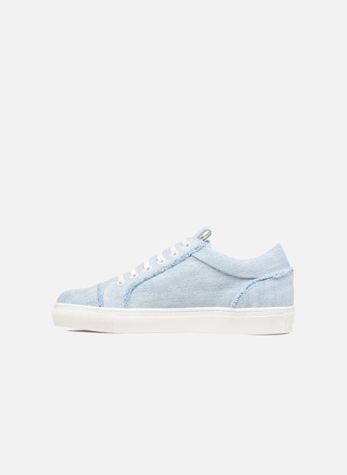 Baskets KARL LAGERFELD Denim Sneaker Bleu vue face