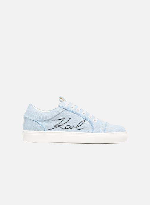 Baskets KARL LAGERFELD Denim Sneaker Bleu vue derrière