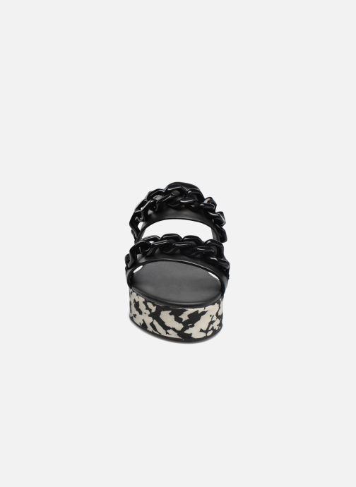 Sandales et nu-pieds KARL LAGERFELD Plexi Platform Sandal Noir vue portées chaussures