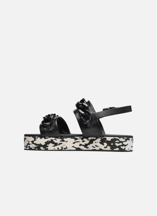pieds Nu Lagerfeld Et Plexi Platform Chez Karl noir Sandal Sandales 8q0PAdxA