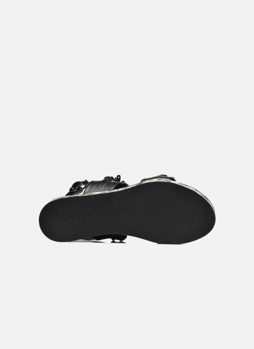 Sandales et nu-pieds KARL LAGERFELD Plexi Platform Sandal Noir vue haut