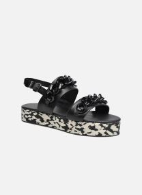 Plexi Platform Sandal