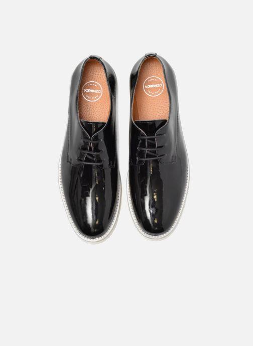 Zapatos con cordones Made by SARENZA Vegas Lipstick #10 Negro vista del modelo