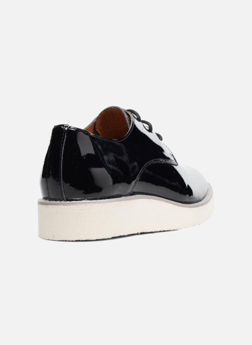 Zapatos con cordones Made by SARENZA Vegas Lipstick #10 Negro vista de frente