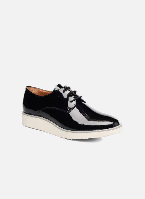 Zapatos con cordones Made by SARENZA Vegas Lipstick #10 Negro vista lateral derecha