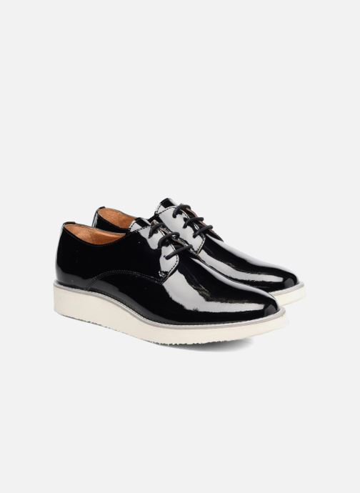 Zapatos con cordones Made by SARENZA Vegas Lipstick #10 Negro vistra trasera