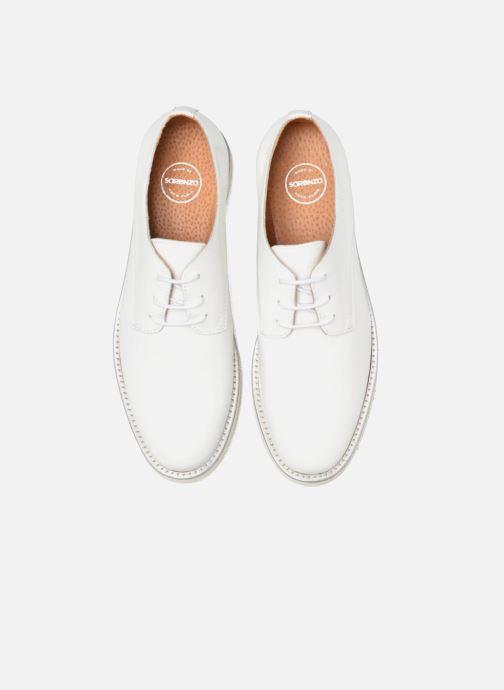 Zapatos con cordones Made by SARENZA Vegas Lipstick #10 Blanco vista del modelo