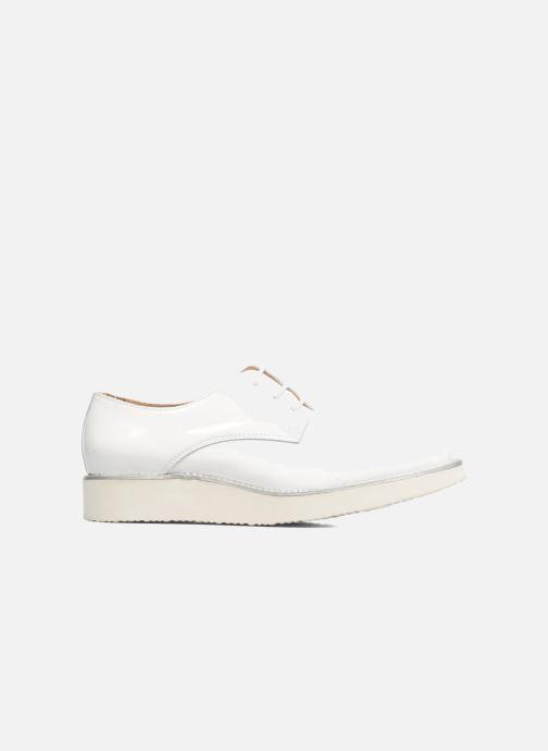 Zapatos con cordones Made by SARENZA Vegas Lipstick #10 Blanco vista de detalle / par