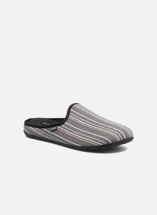 Slippers Dim D Canto Grey detailed view/ Pair view