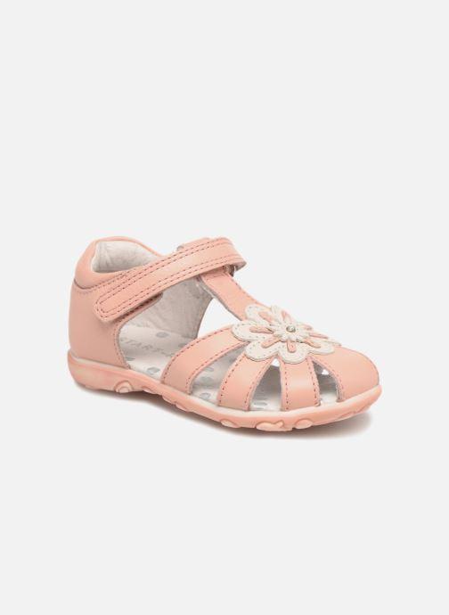 Sandaler Start Rite Primrose Pink detaljeret billede af skoene