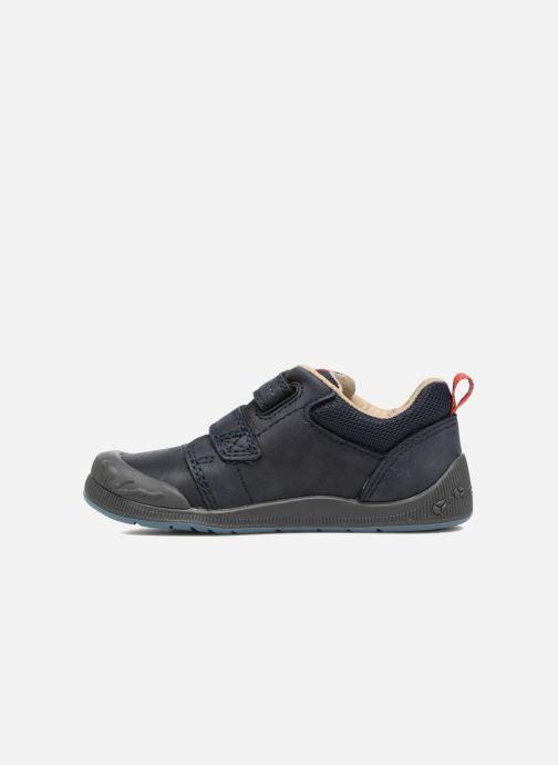 Chaussures à scratch Start Rite Beetlebug Bleu vue face