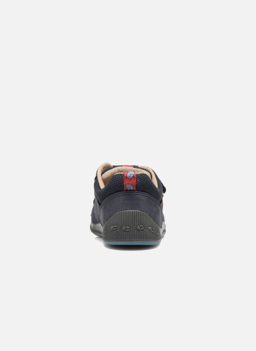 Chaussures à scratch Start Rite Beetlebug Bleu vue droite