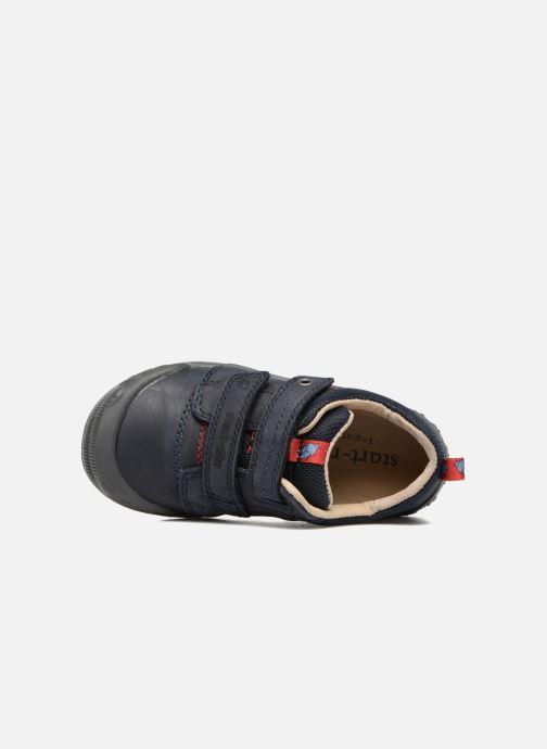 Chaussures à scratch Start Rite Beetlebug Bleu vue gauche