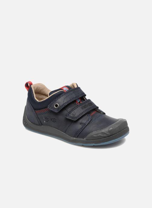 Chaussures à scratch Start Rite Beetlebug Bleu vue détail/paire