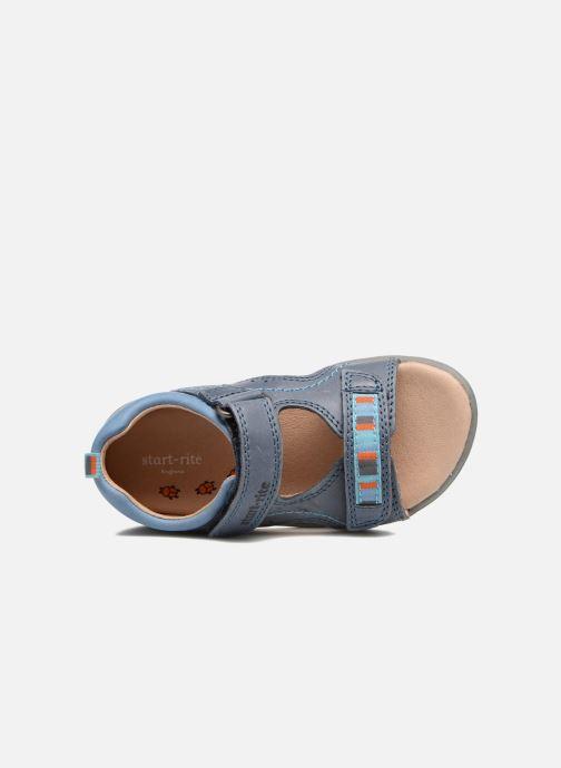 Sandalias Start Rite Elliot Azul vista lateral izquierda