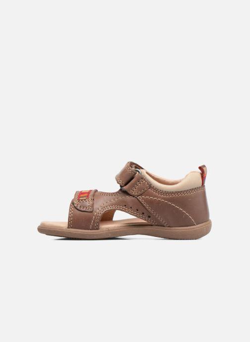 Sandales et nu-pieds Start Rite Elliot Marron vue face