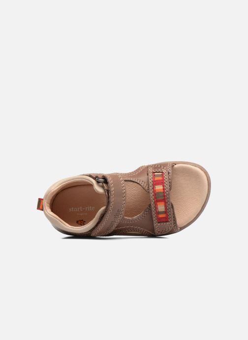 Sandales et nu-pieds Start Rite Elliot Marron vue gauche