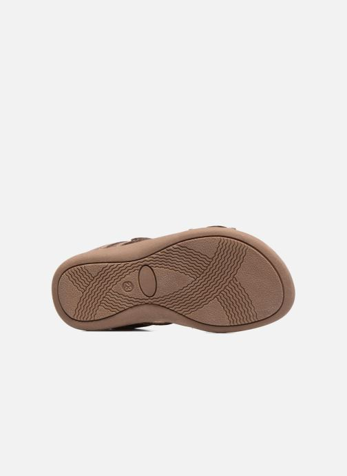 Sandales et nu-pieds Start Rite Elliot Marron vue haut