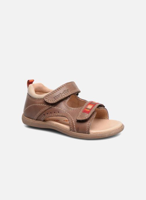 Sandaler Start Rite Elliot Brun detaljeret billede af skoene