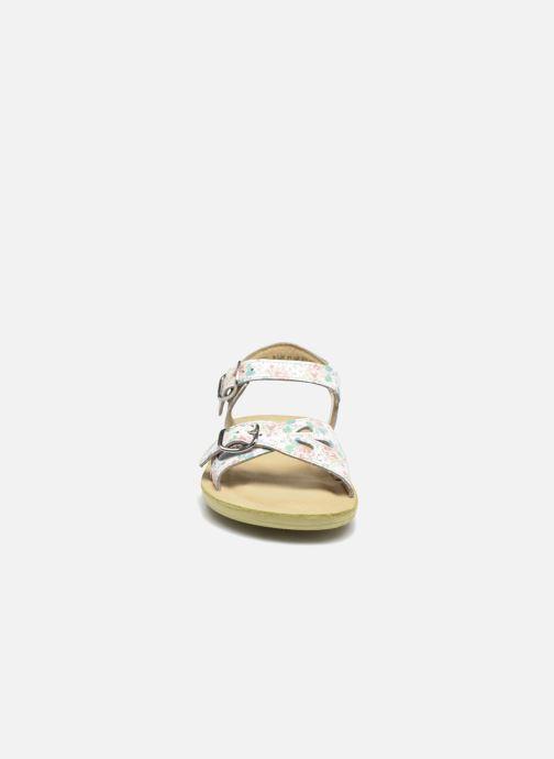 Sandalen Start Rite SR Soft Harper rosa schuhe getragen
