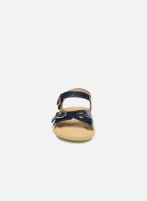 Sandales et nu-pieds Start Rite SR Soft Harper Bleu vue portées chaussures