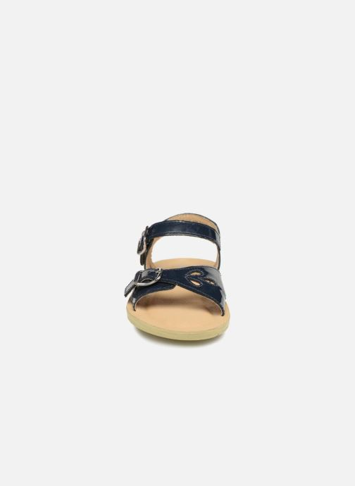 Sandalias Start Rite SR Soft Harper Azul vista del modelo