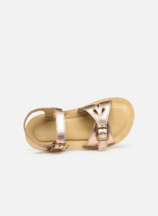 Sandalen Start Rite SR Soft Harper Zilver links