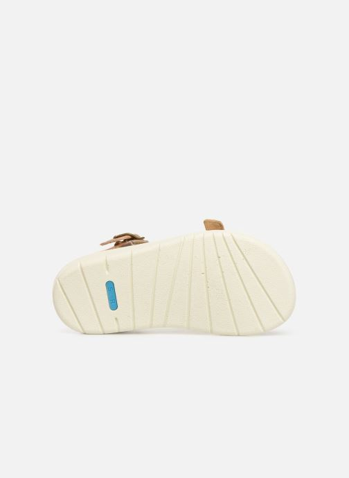 Sandales et nu-pieds Start Rite SR Soft Harper Argent vue haut