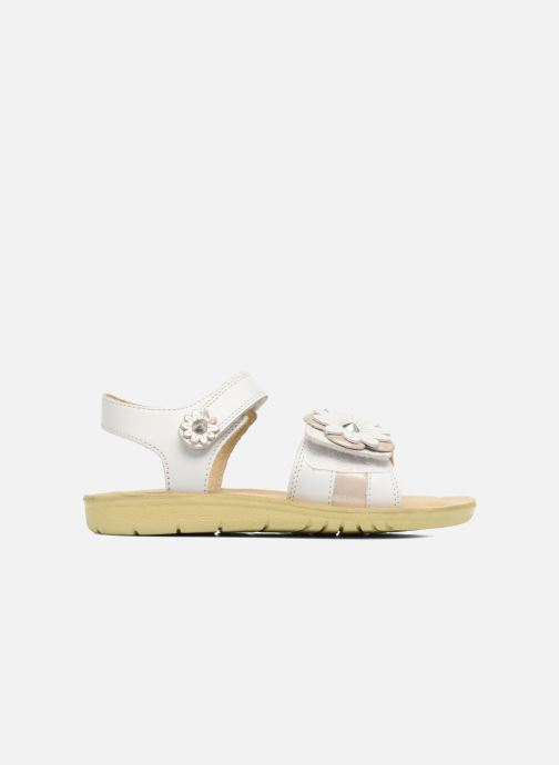 Sandales et nu-pieds Start Rite SR Soft Clara Blanc vue derrière