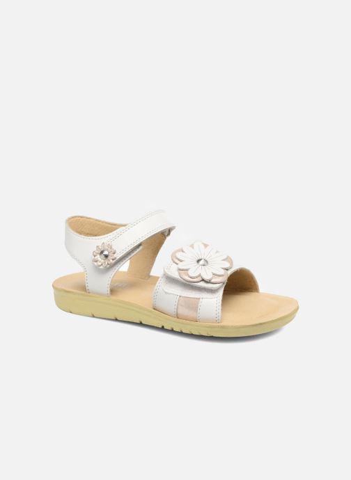 Sandales et nu-pieds Start Rite SR Soft Clara Blanc vue détail/paire