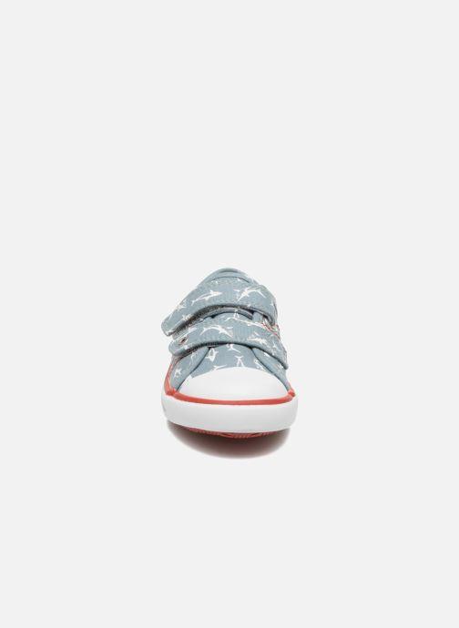 Baskets Start Rite Sea Spray Bleu vue portées chaussures