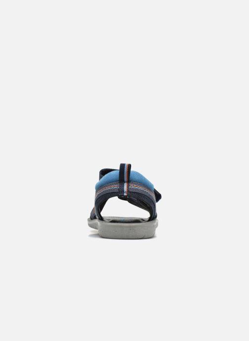 Sandales et nu-pieds Start Rite SR Soft Caleb Bleu vue droite