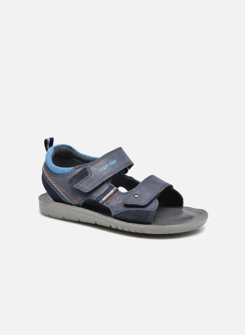 Sandales et nu-pieds Start Rite SR Soft Caleb Bleu vue détail/paire