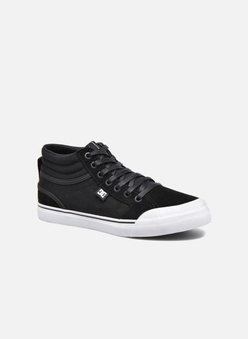 Deportivas DC Shoes Evan Hi B Negro vista de detalle / par