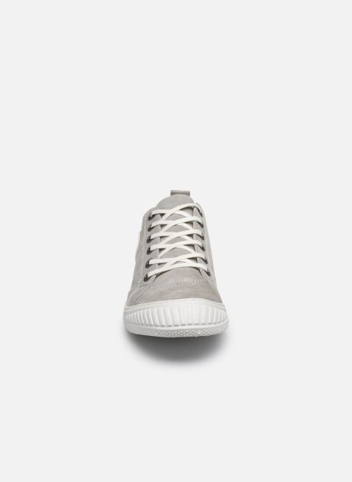 Baskets Pataugas RockM Argent vue portées chaussures