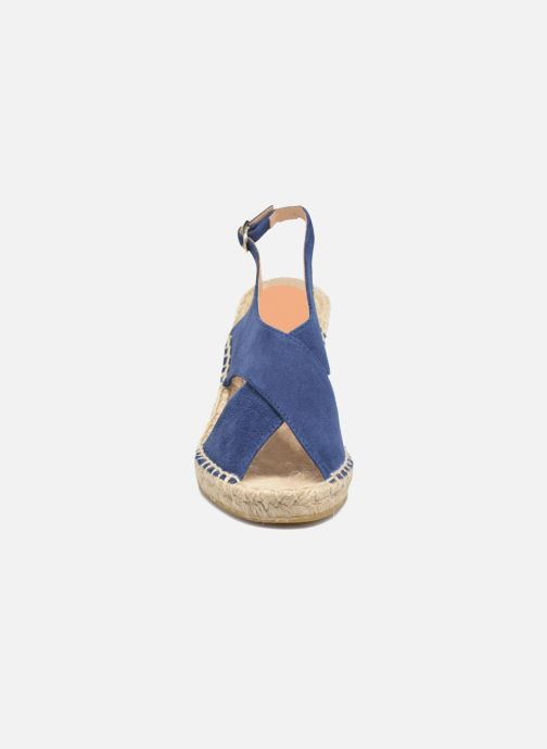 Espadrilles Georgia Rose Dacroi Bleu vue portées chaussures