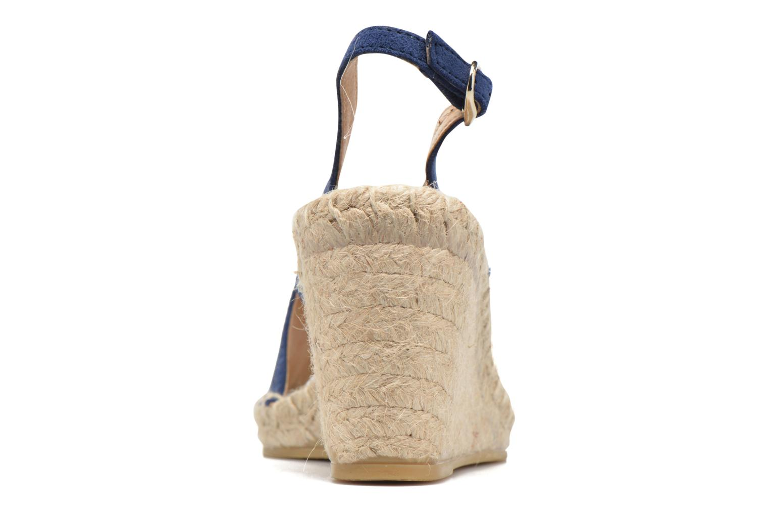 Espadrilles Georgia Rose Dacroi Blue view from the right