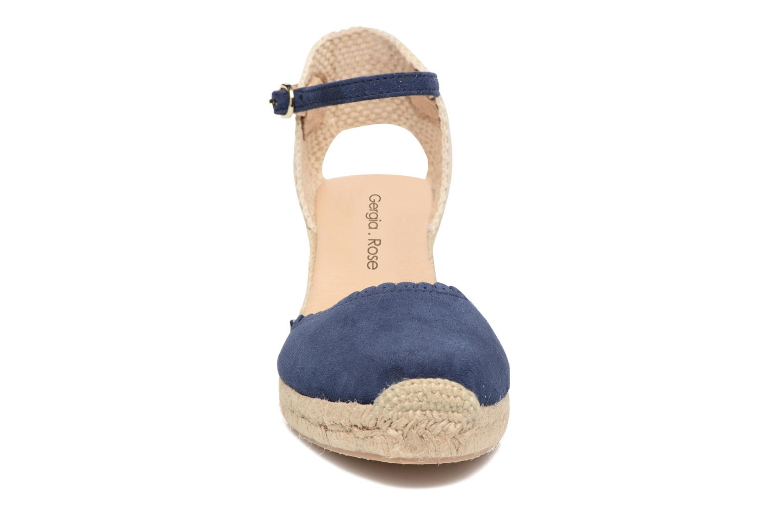 Espadrilles Georgia Rose Dasouplette Blue model view