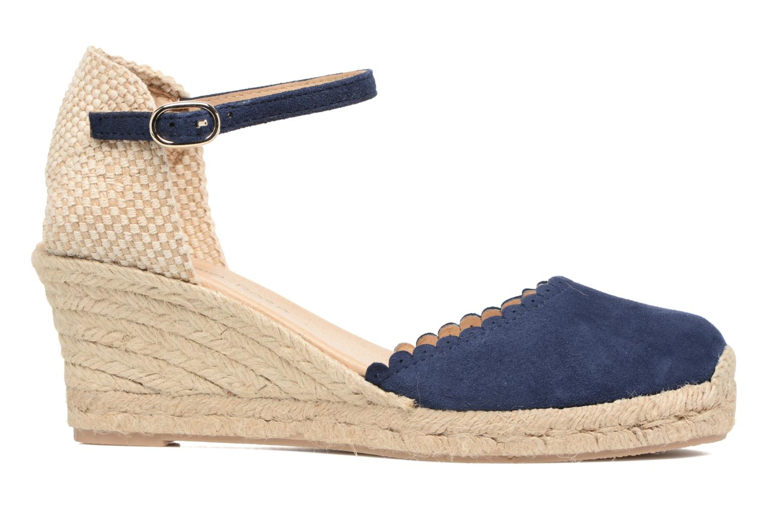Espadrilles Georgia Rose Dasouplette Blue back view