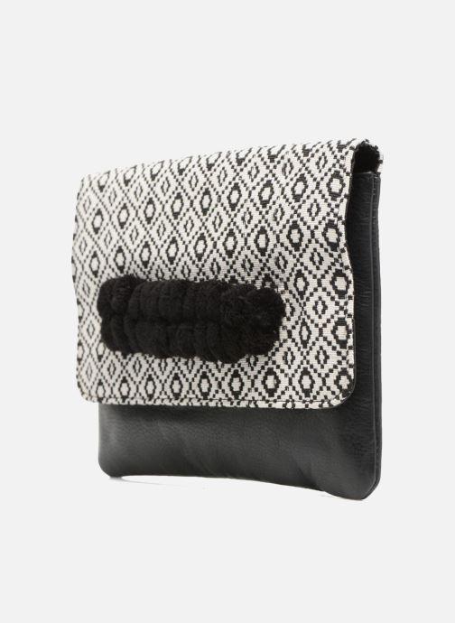 Sacs pochettes COSMOPARIS Sac-Kobi Noir vue portées chaussures
