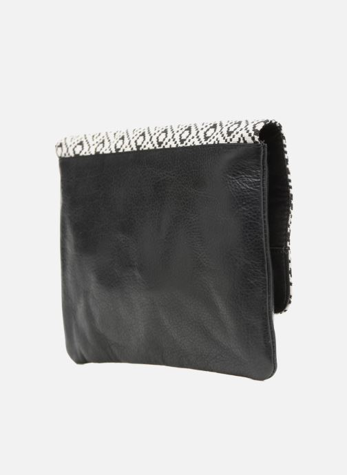 Clutch bags COSMOPARIS Sac-Kobi Black view from the right