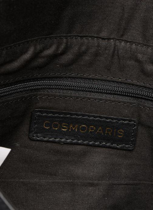 Clutch bags COSMOPARIS Sac-Kobi Black back view