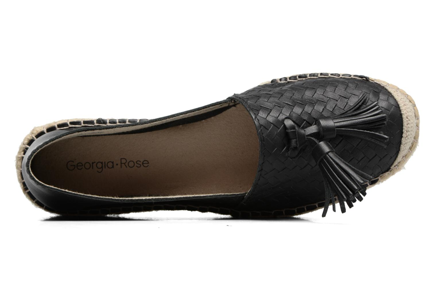 Espadrilles Georgia Rose Inopong Black view from the left