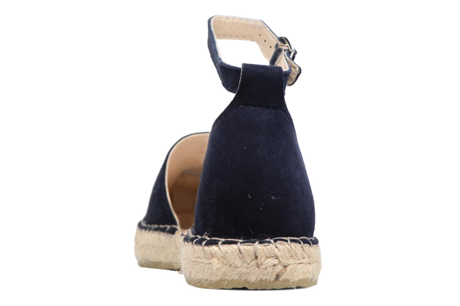 Espadrilles Georgia Rose Idalore Blue view from the right