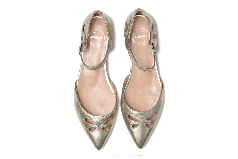 Ballet pumps Made by SARENZA Vegas Lipstick #2 Silver model view