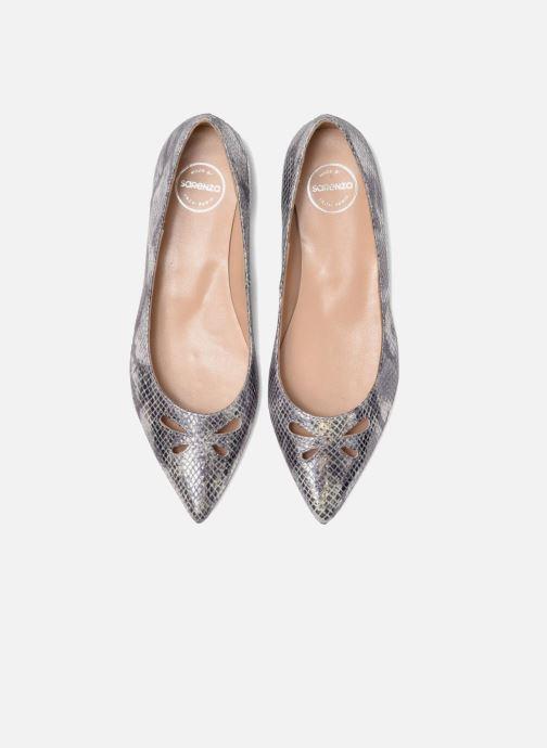 Ballerinaer Made by SARENZA Vegas Lipstick #5 Sølv se skoene på