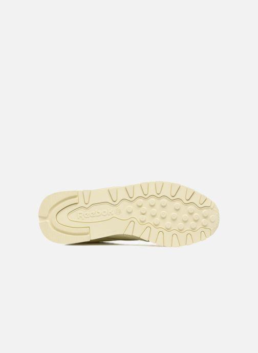 Reebok Cl Lthr Pastels (Beige) - Sneakers  Beige (Washed Yellow/White) - schoenen online kopen